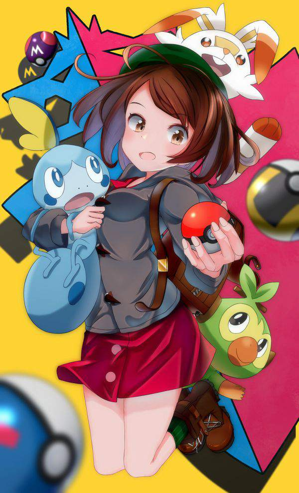 【ポケモン剣盾】女主人公パズル3 可愛い